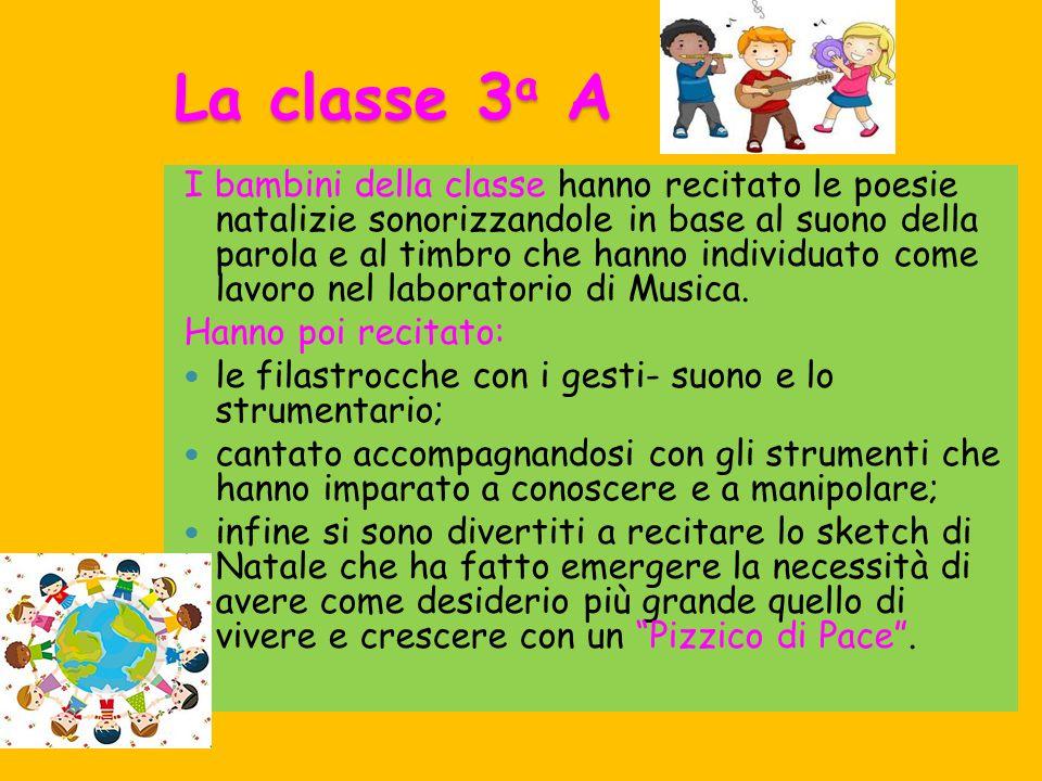La classe 3a A