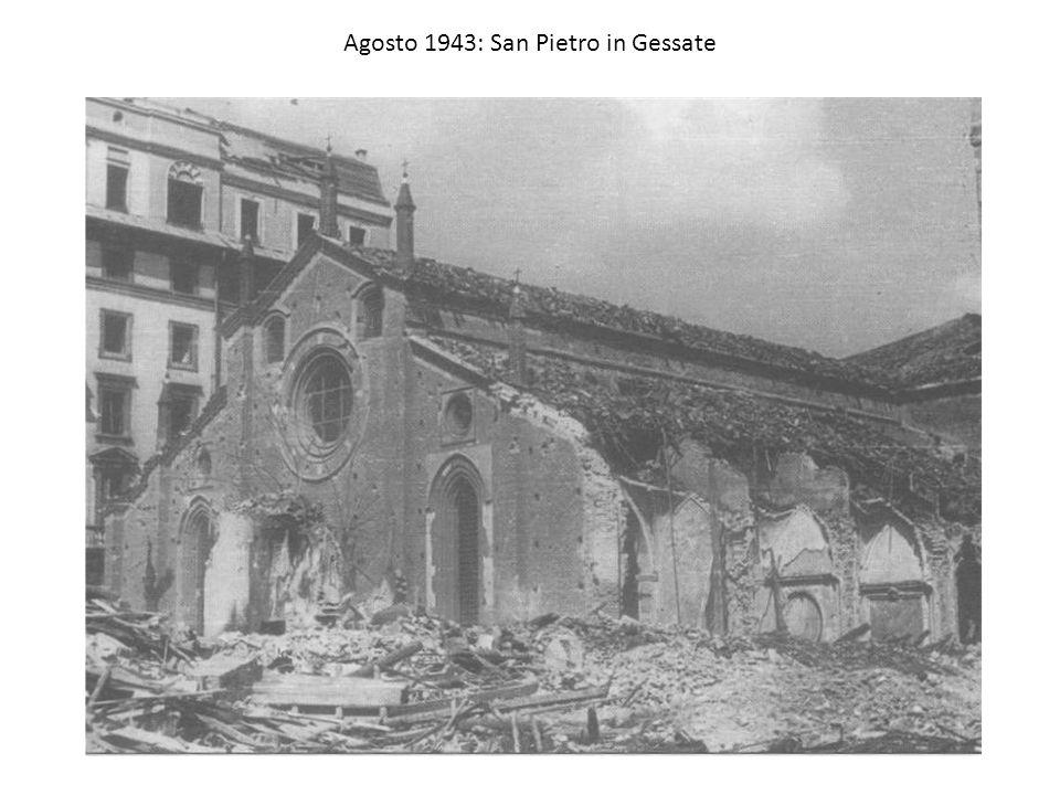 Agosto 1943: San Pietro in Gessate