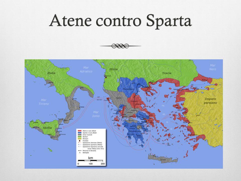 Atene contro Sparta