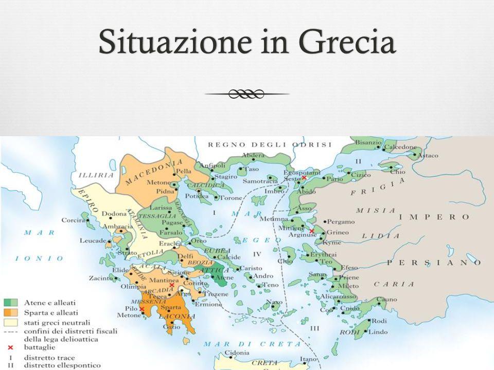 Situazione in Grecia