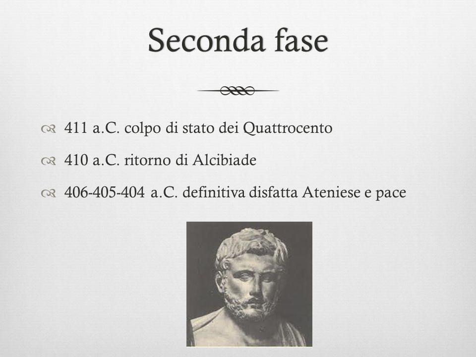 Seconda fase 411 a.C. colpo di stato dei Quattrocento