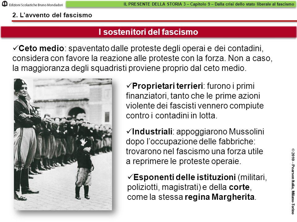 I sostenitori del fascismo