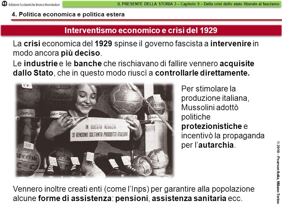 Interventismo economico e crisi del 1929