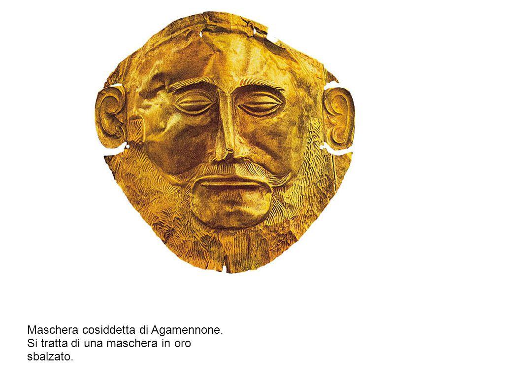 Maschera cosiddetta di Agamennone