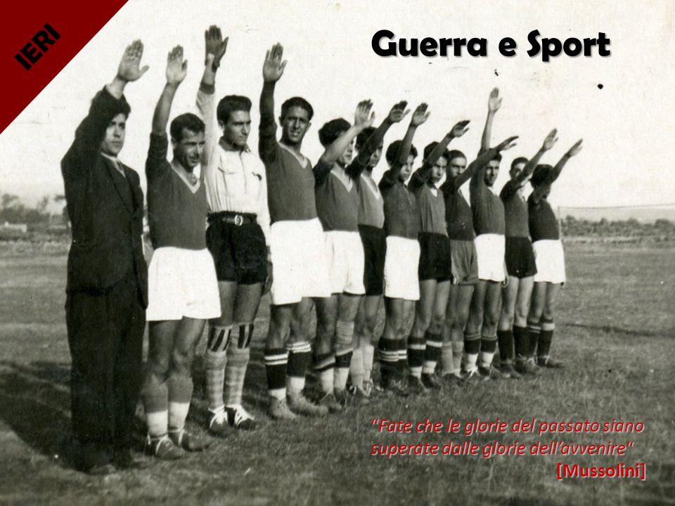 Guerra e Sport IERI.