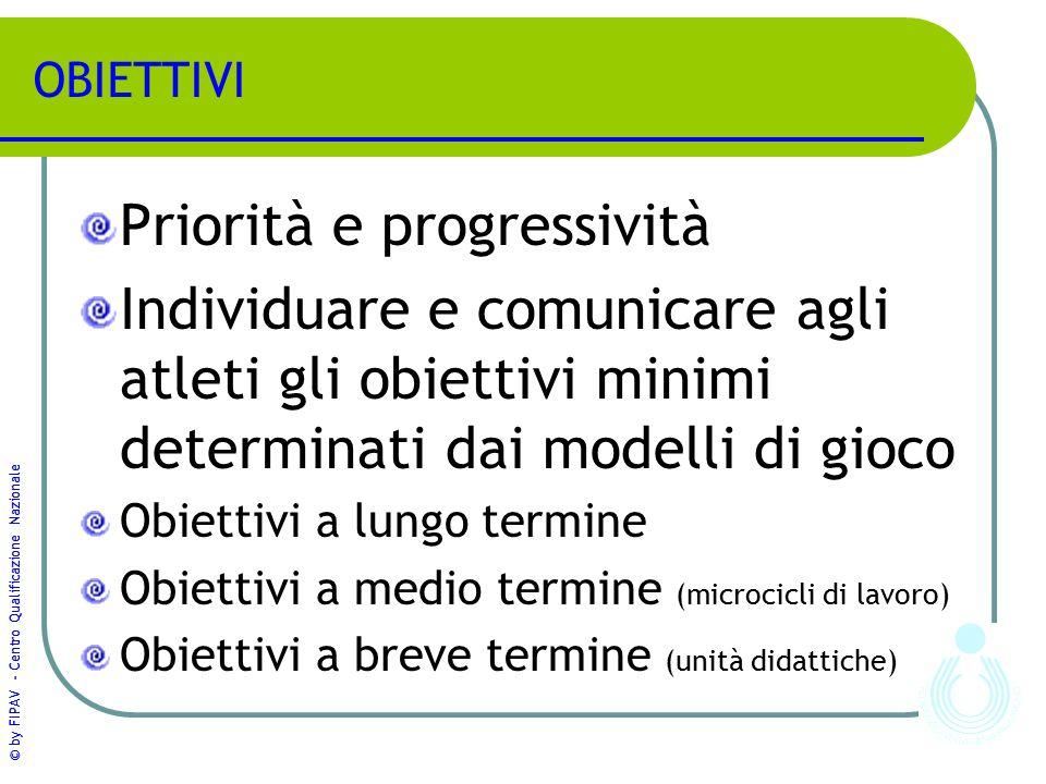 Priorità e progressività