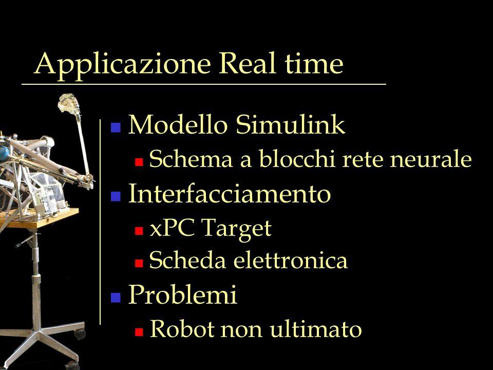 Applicazione Real time