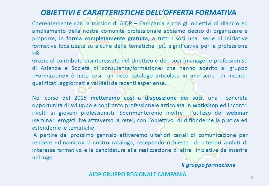 OBIETTIVI E CARATTERISTICHE DELL'OFFERTA FORMATIVA