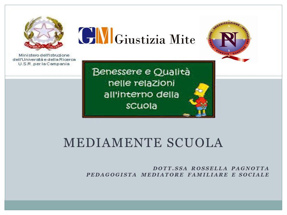 MediaMente Scuola Dott.ssa Rossella Pagnotta