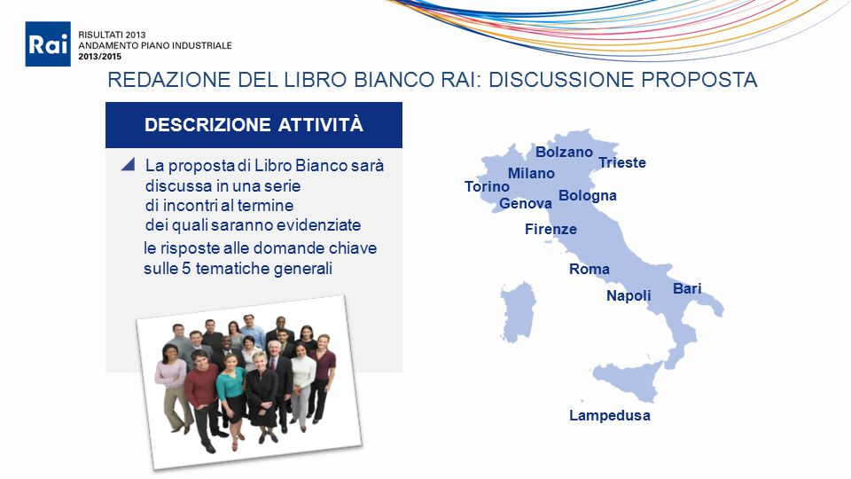 REDAZIONE DEL LIBRO BIANCO RAI: DISCUSSIONE PROPOSTA