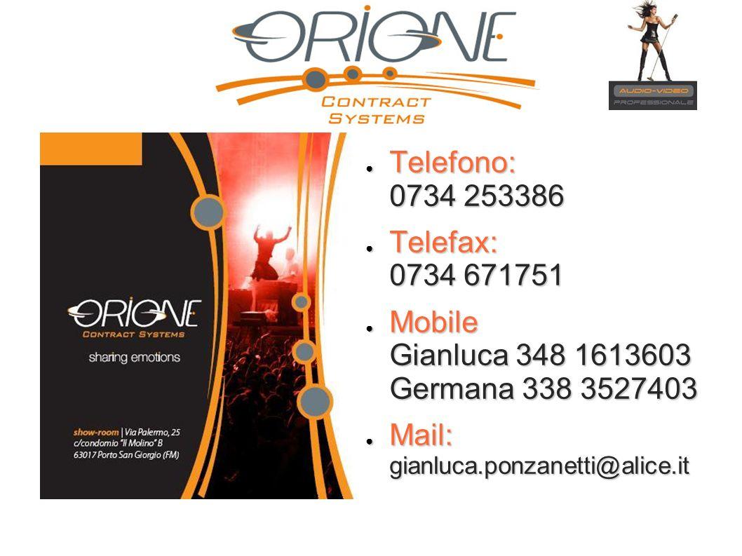 Telefono: 0734 253386Telefax: 0734 671751.