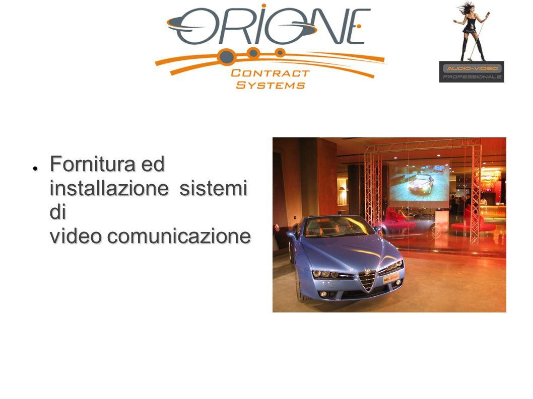 Fornitura ed installazione sistemi di video comunicazione