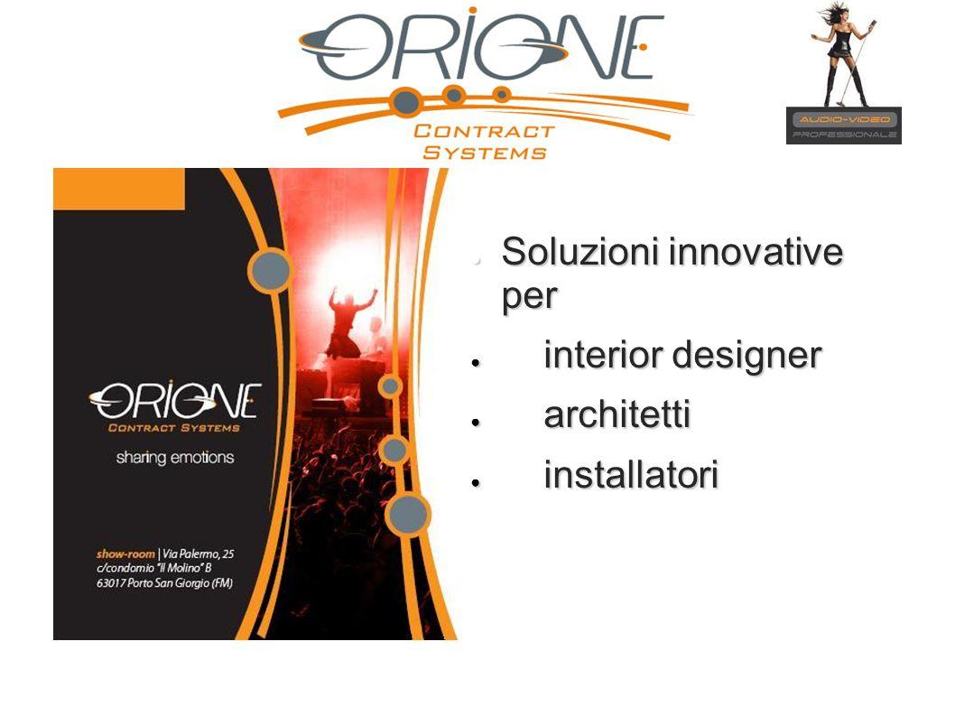 Soluzioni innovative per