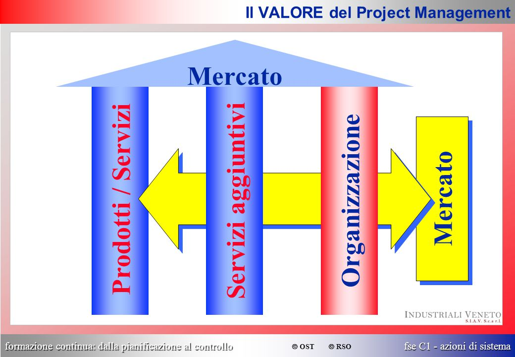 Il VALORE del Project Management