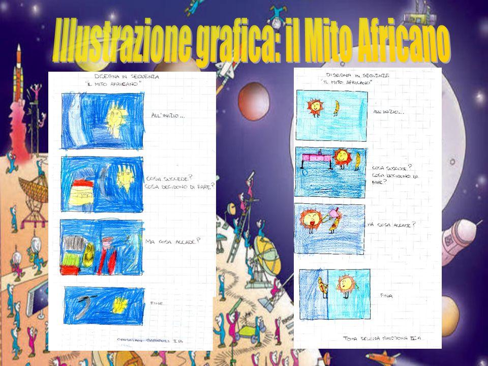 Illustrazione grafica: il Mito Africano