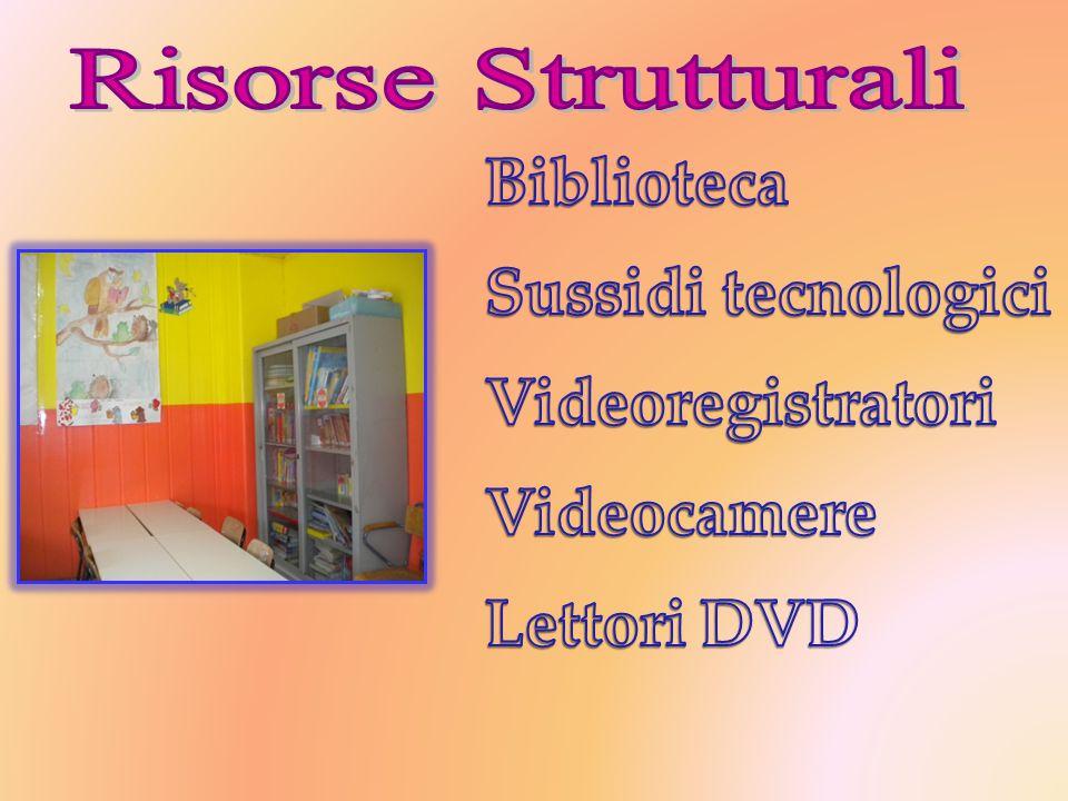 Biblioteca Sussidi tecnologici Videoregistratori Videocamere