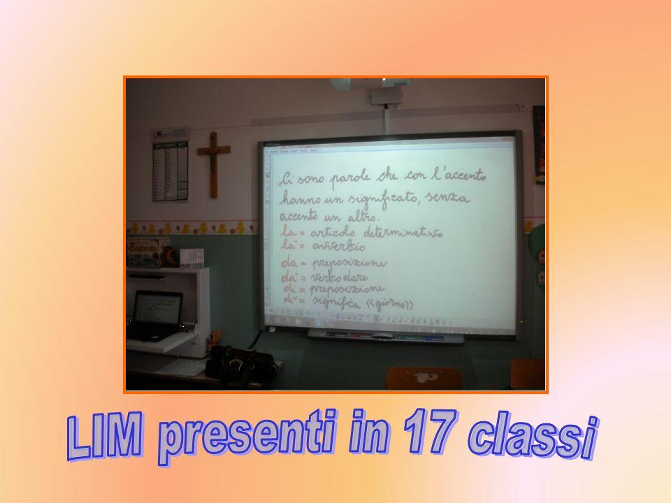 LIM presenti in 17 classi