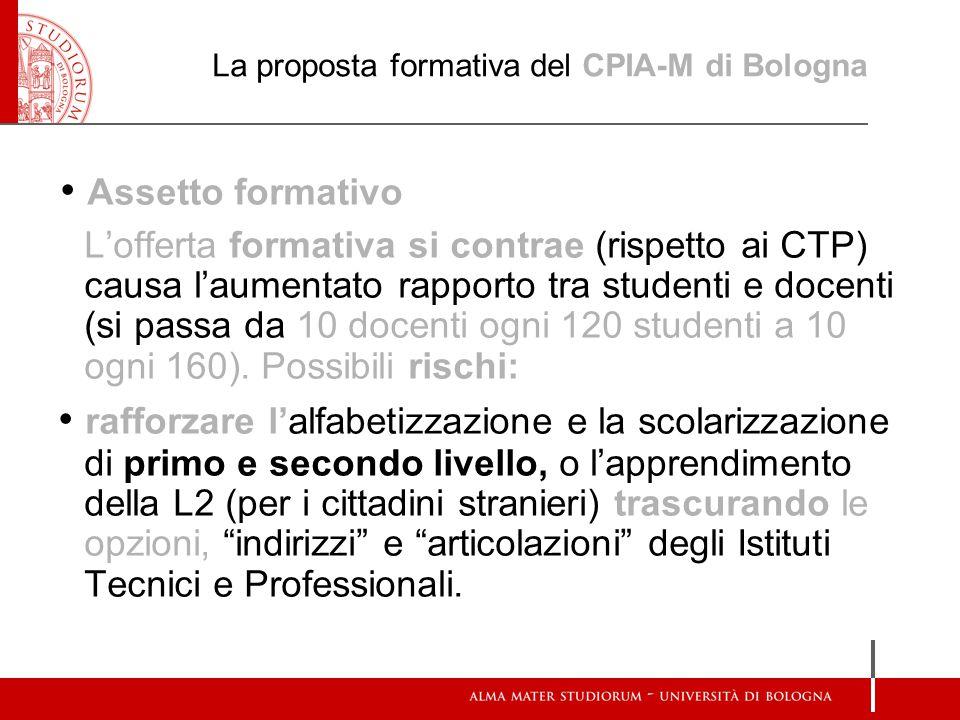 La proposta formativa del CPIA-M di Bologna