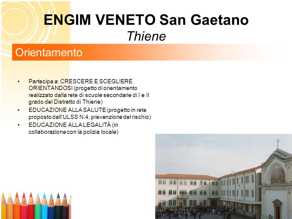 ENGIM VENETO San Gaetano Thiene