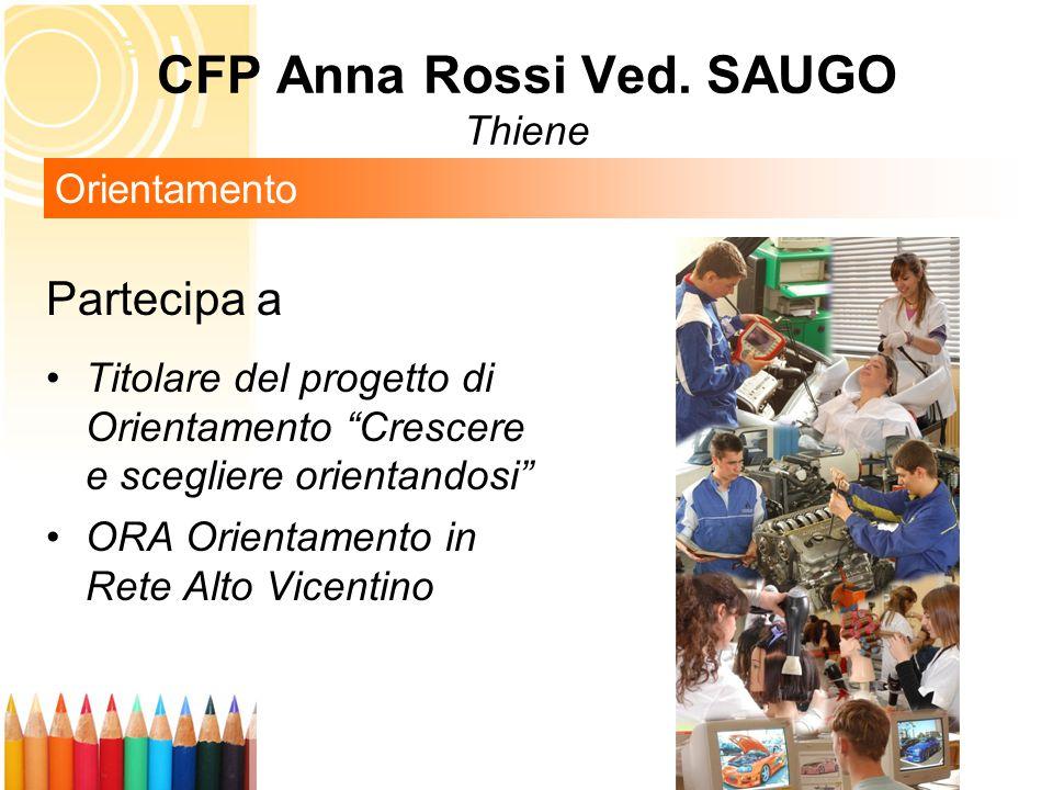 CFP Anna Rossi Ved. SAUGO Thiene