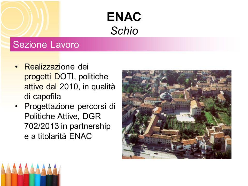 ENAC Schio Sezione Lavoro