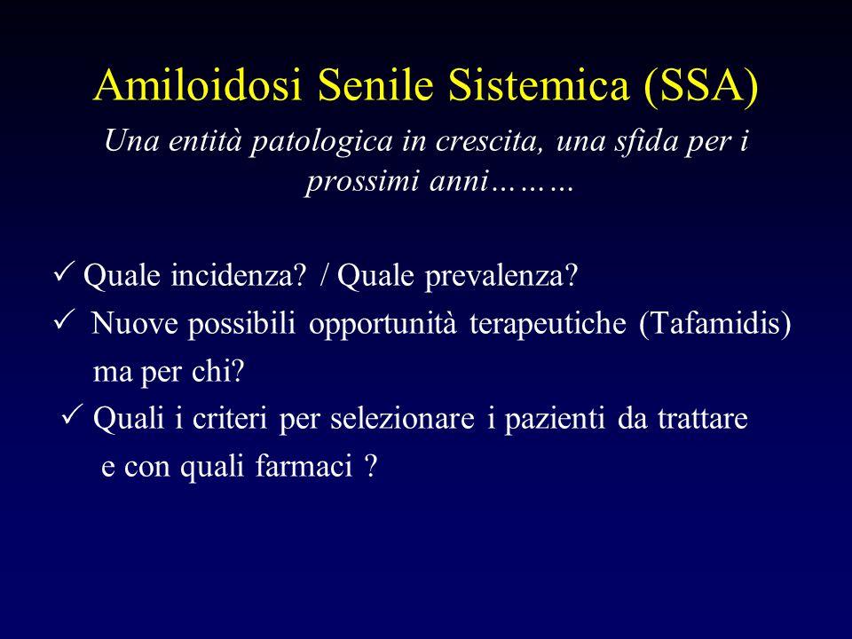Amiloidosi Senile Sistemica (SSA)