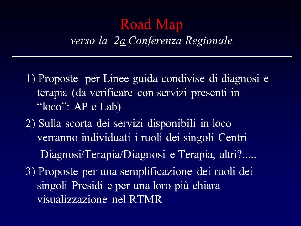 Road Map verso la 2a Conferenza Regionale