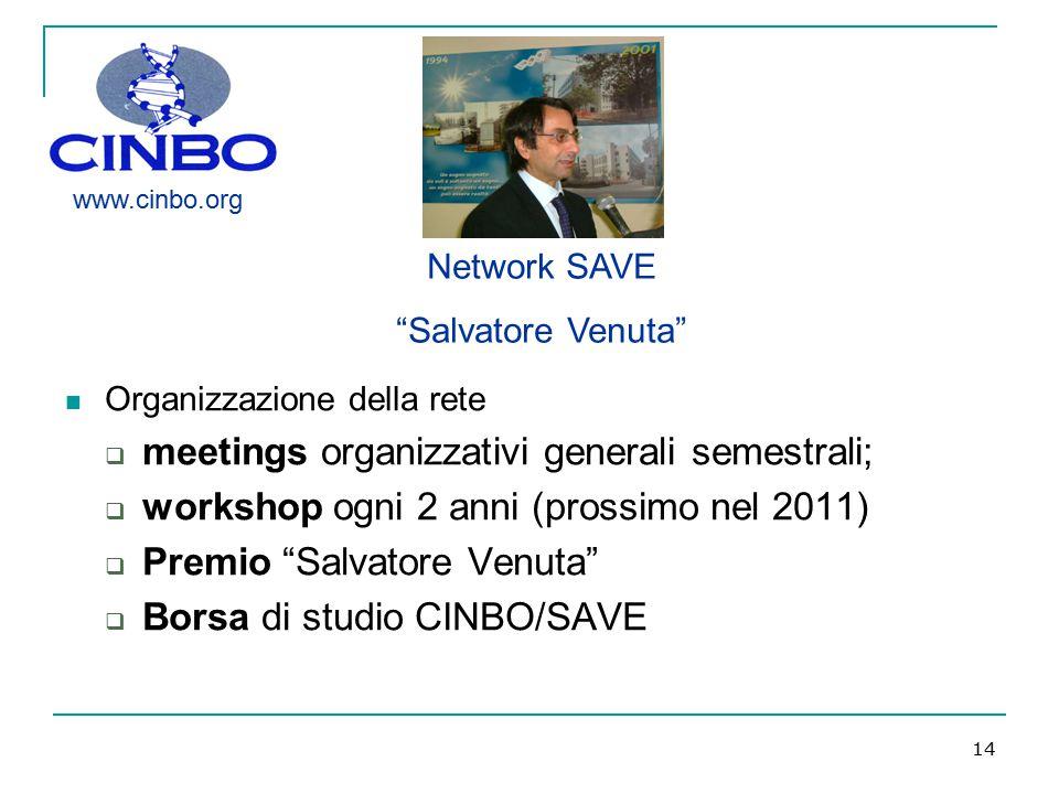meetings organizzativi generali semestrali;