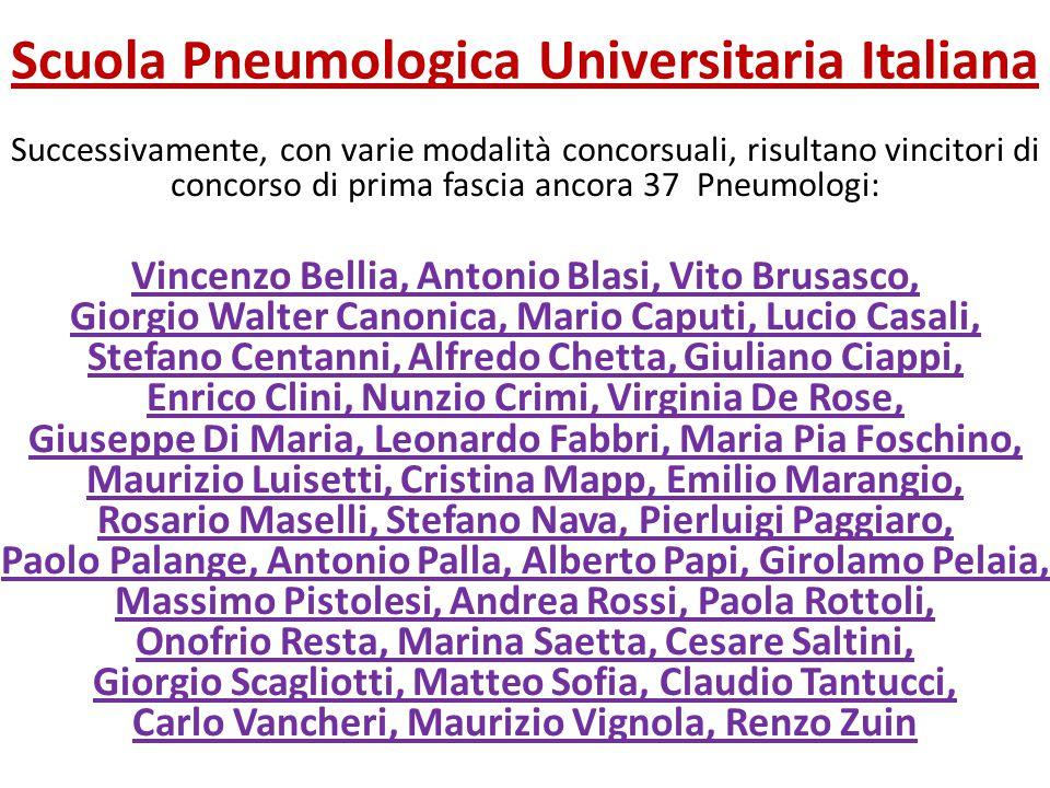 Scuola Pneumologica Universitaria Italiana