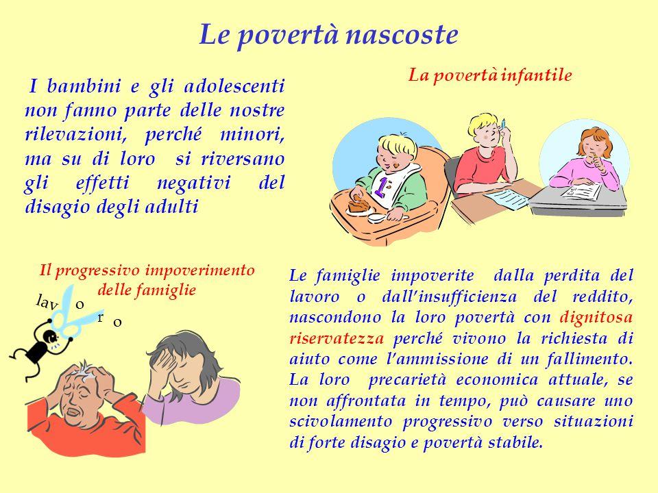 Il progressivo impoverimento delle famiglie