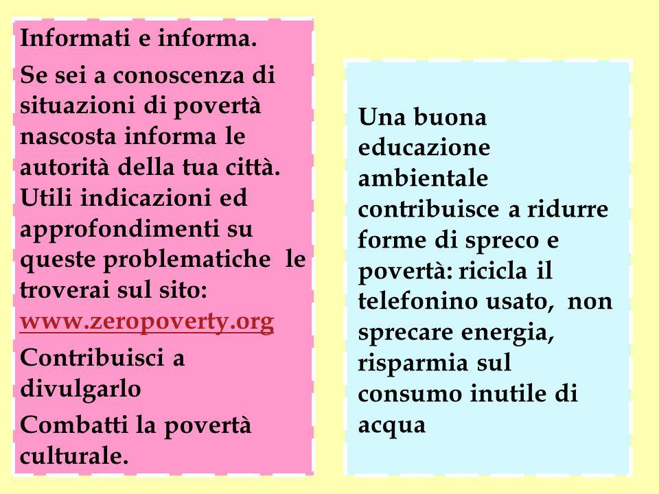 Informati e informa.
