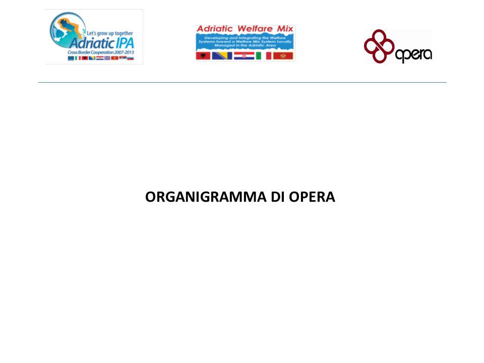 ORGANIGRAMMA DI OPERA