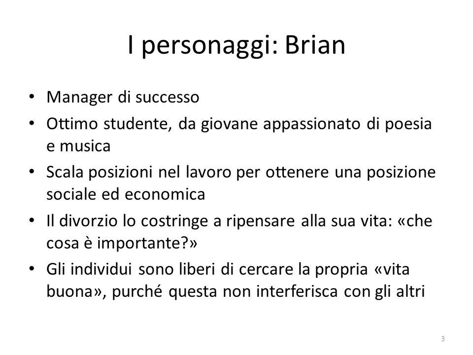 I personaggi: Brian Manager di successo