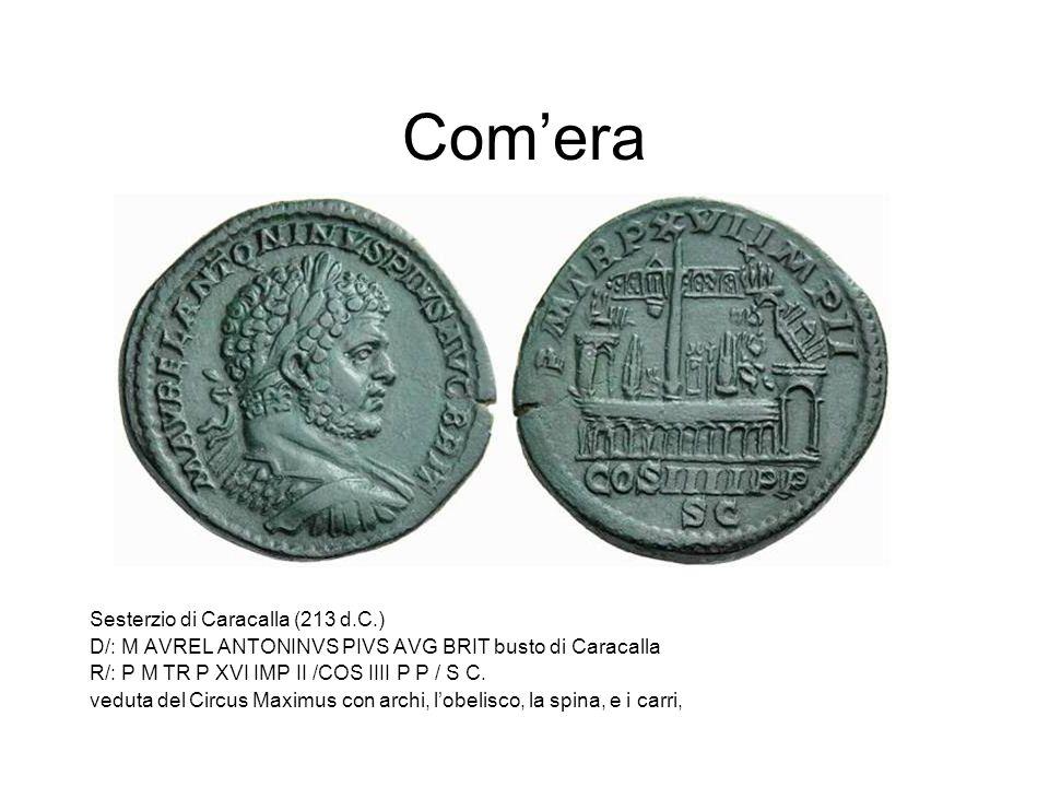 Com'era Sesterzio di Caracalla (213 d.C.)