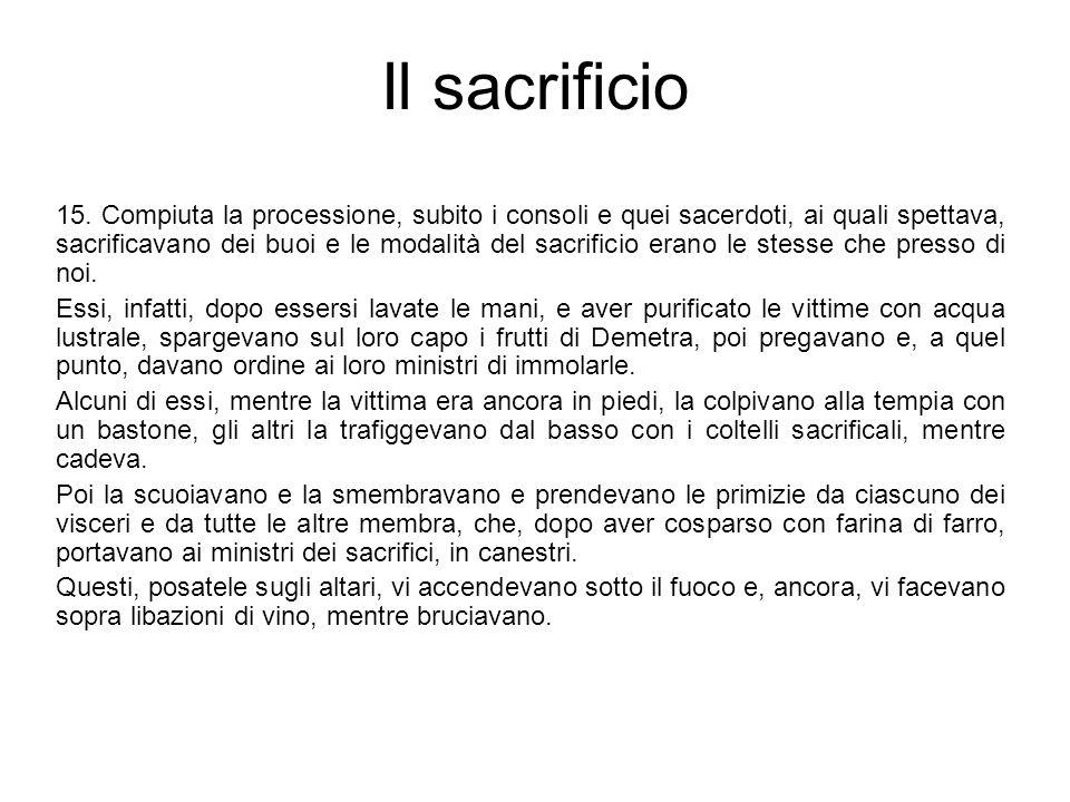 Il sacrificio