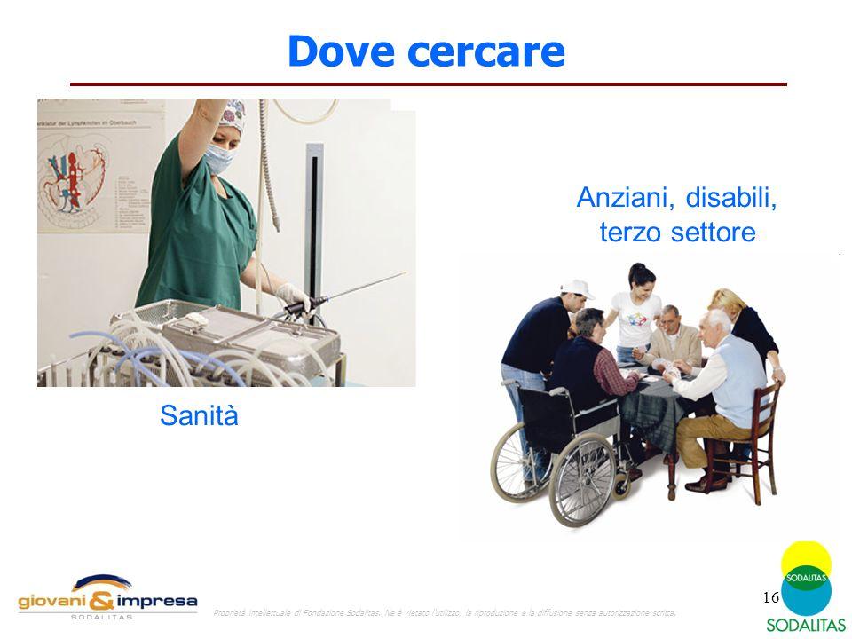 Anziani, disabili, terzo settore