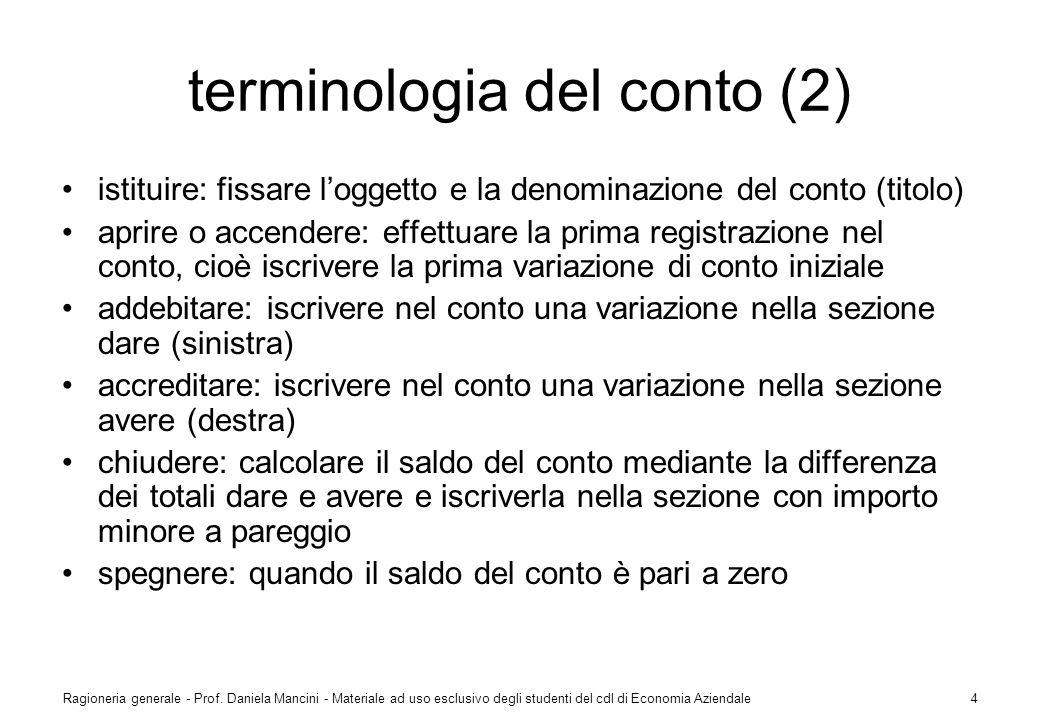 terminologia del conto (2)