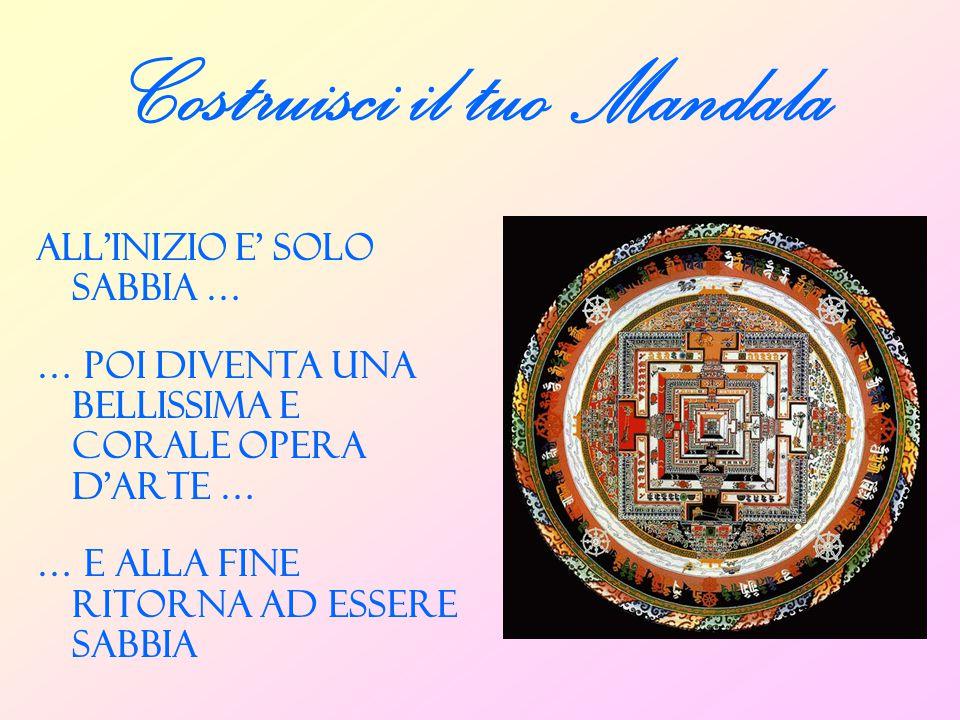 Costruisci il tuo Mandala
