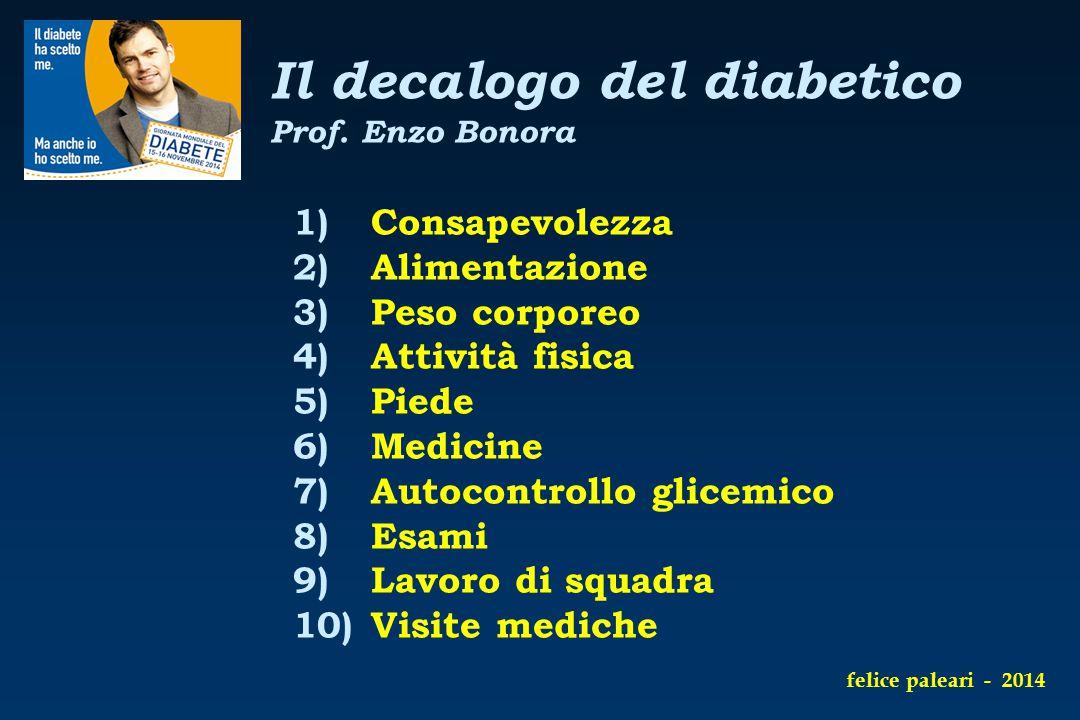 Il decalogo del diabetico