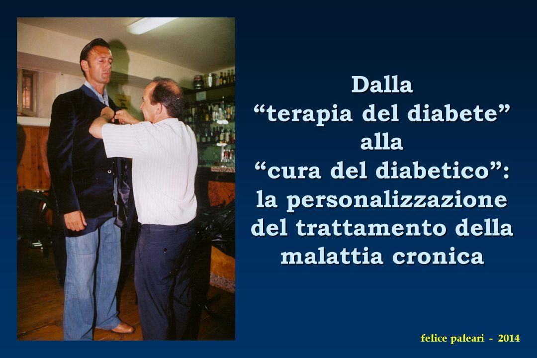Dalla terapia del diabete alla cura del diabetico : la personalizzazione del trattamento della malattia cronica