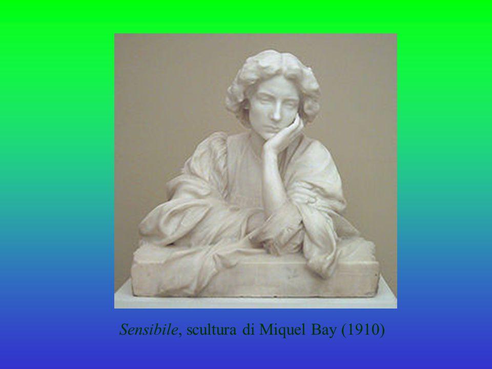 Sensibile, scultura di Miquel Bay (1910)