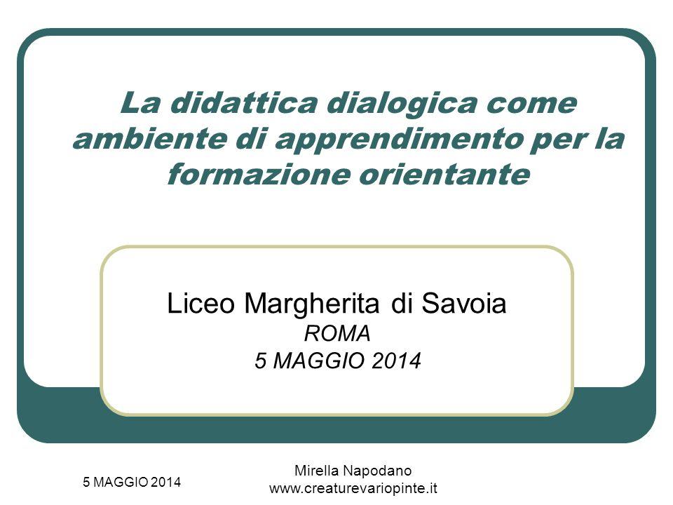 Liceo Margherita di Savoia ROMA 5 MAGGIO 2014