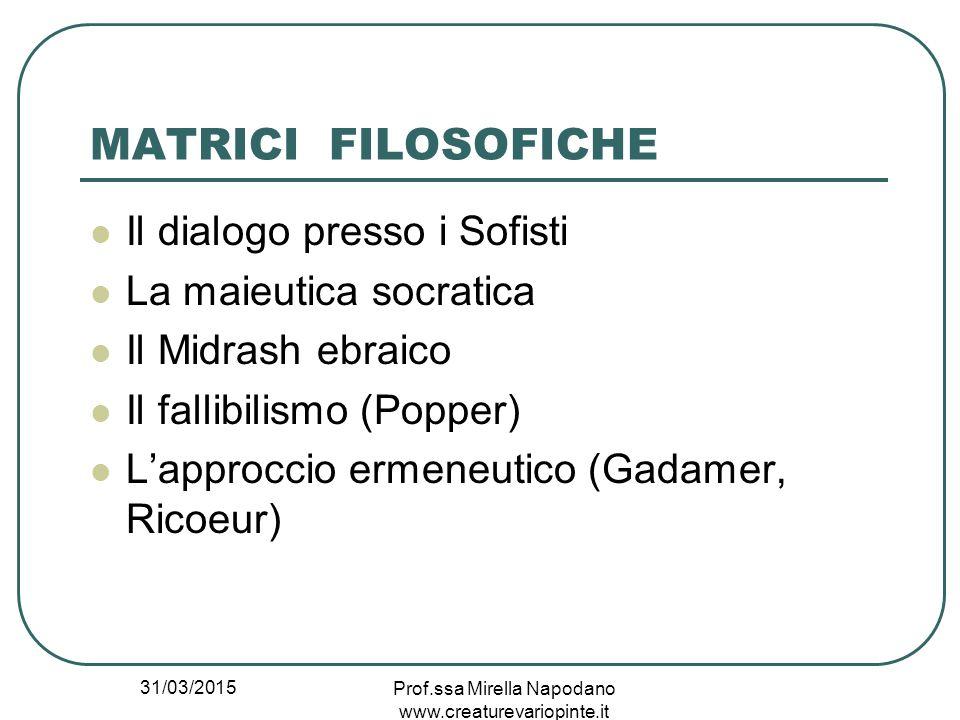 Prof.ssa Mirella Napodano www.creaturevariopinte.it