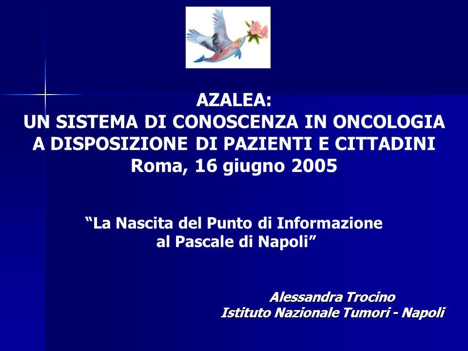 Alessandra Trocino Istituto Nazionale Tumori - Napoli
