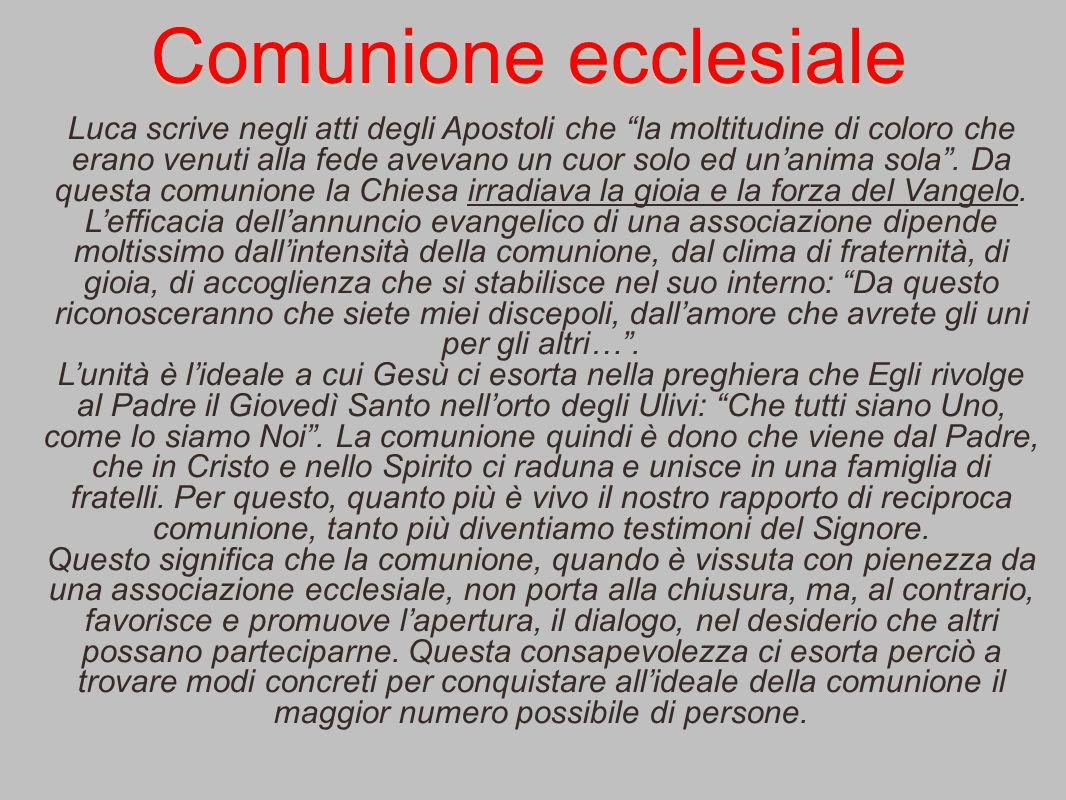 Comunione ecclesiale