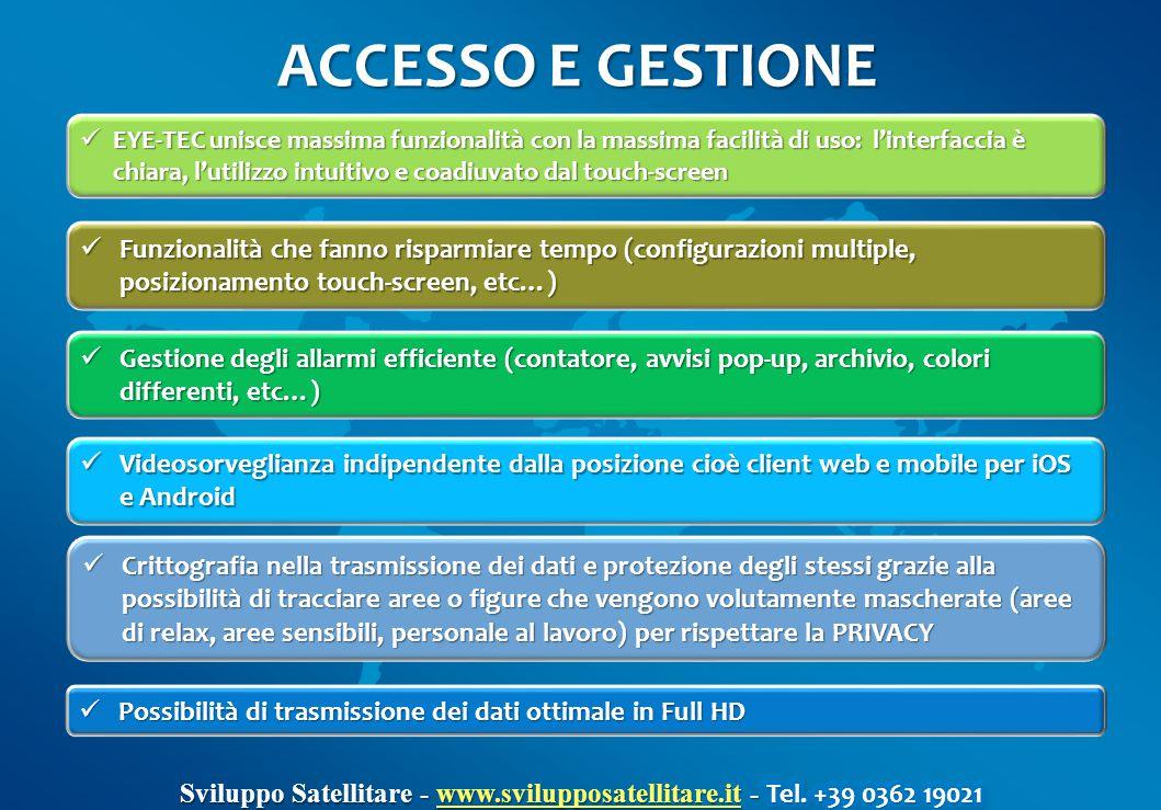 ACCESSO E GESTIONE