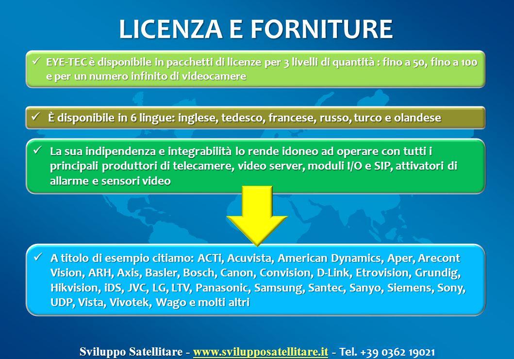 LICENZA E FORNITURE