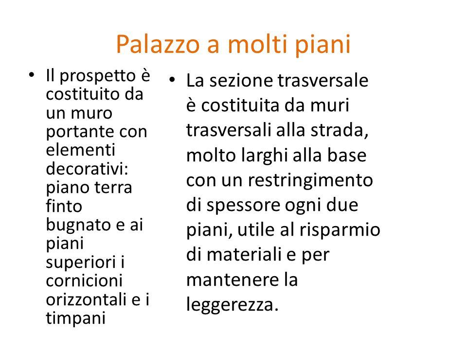 Strutture orizzontali ppt scaricare for Palazzo a due piani