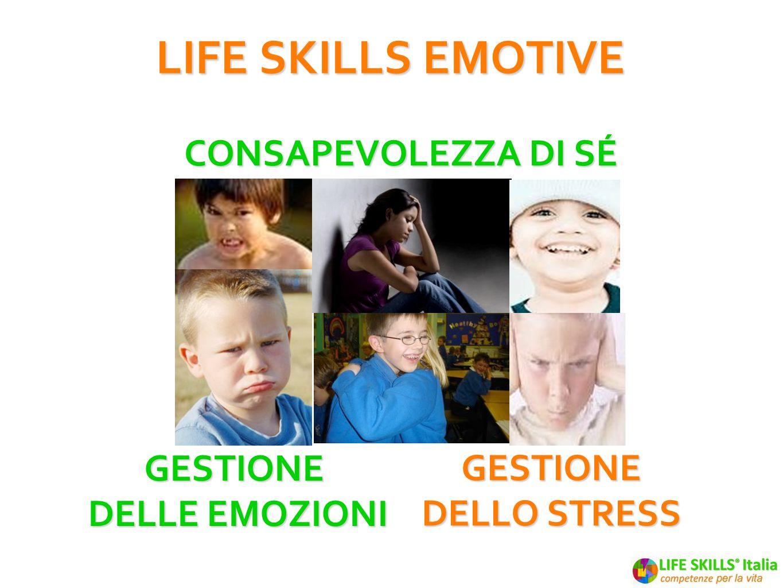 LIFE SKILLS EMOTIVE Consapevolezza di sé Gestione delle emozioni
