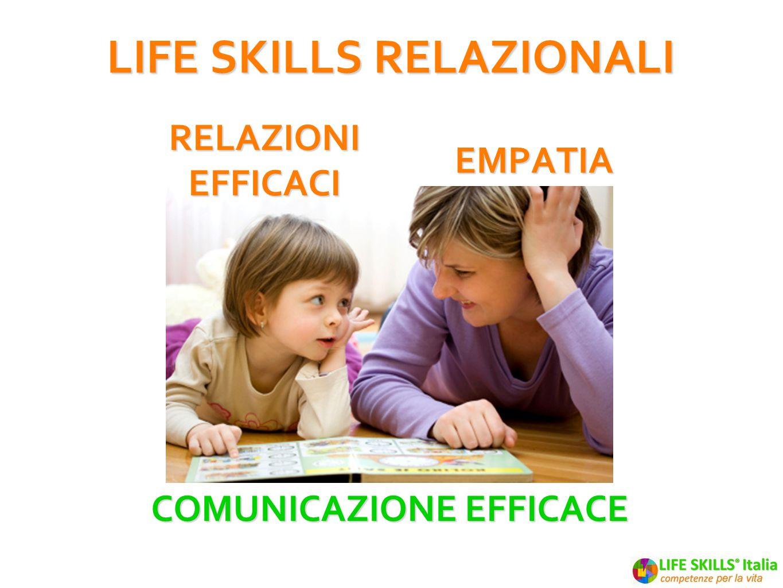 LIFE SKILLS RELAZIONALI Comunicazione efficace